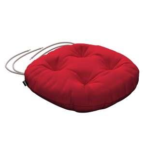 Siedzisko Adam na krzesło fi37x8cm w kolekcji Cotton Panama, tkanina: 702-04