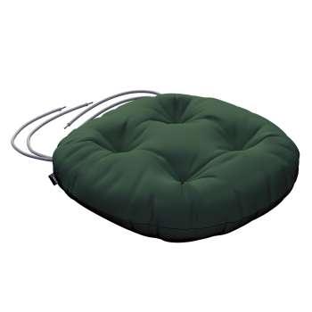 Siedzisko Adam na krzesło fi37x8cm w kolekcji Cotton Panama, tkanina: 702-06