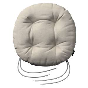Kėdės pagalvėlė Adam  skersmuo 37x8cm kolekcijoje Linen , audinys: 392-05
