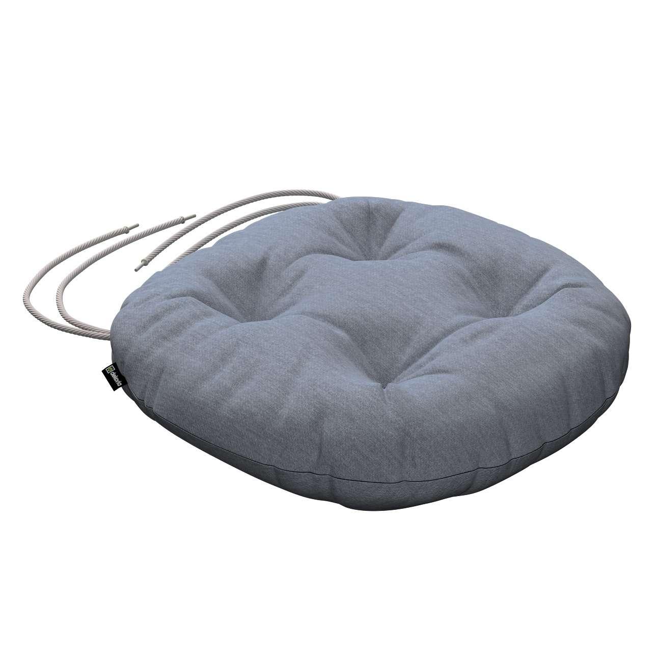 Kėdės pagalvėlė Adam  skersmuo 37x8cm kolekcijoje Chenille, audinys: 702-13