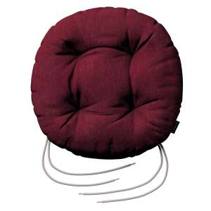 Kėdės pagalvėlė Adam  skersmuo 37x8cm kolekcijoje Chenille, audinys: 702-19