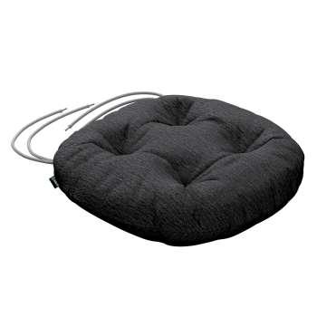 Kėdės pagalvėlė Adam  skersmuo 37x8cm kolekcijoje Chenille, audinys: 702-20
