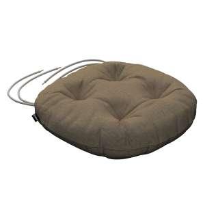 Siedzisko Adam na krzesło fi37x8cm w kolekcji Chenille, tkanina: 702-21