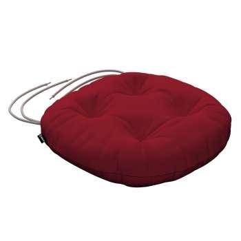Siedzisko Adam na krzesło fi37x8cm w kolekcji Chenille, tkanina: 702-24