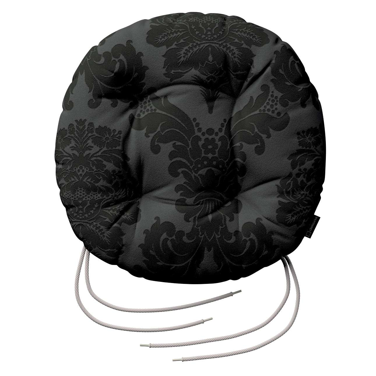 Kėdės pagalvėlė Adam  skersmuo 37x8cm kolekcijoje Damasco, audinys: 613-32