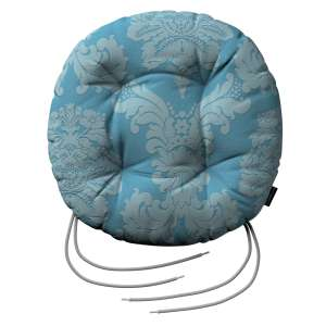 Kėdės pagalvėlė Adam  skersmuo 37x8cm kolekcijoje Damasco, audinys: 613-67