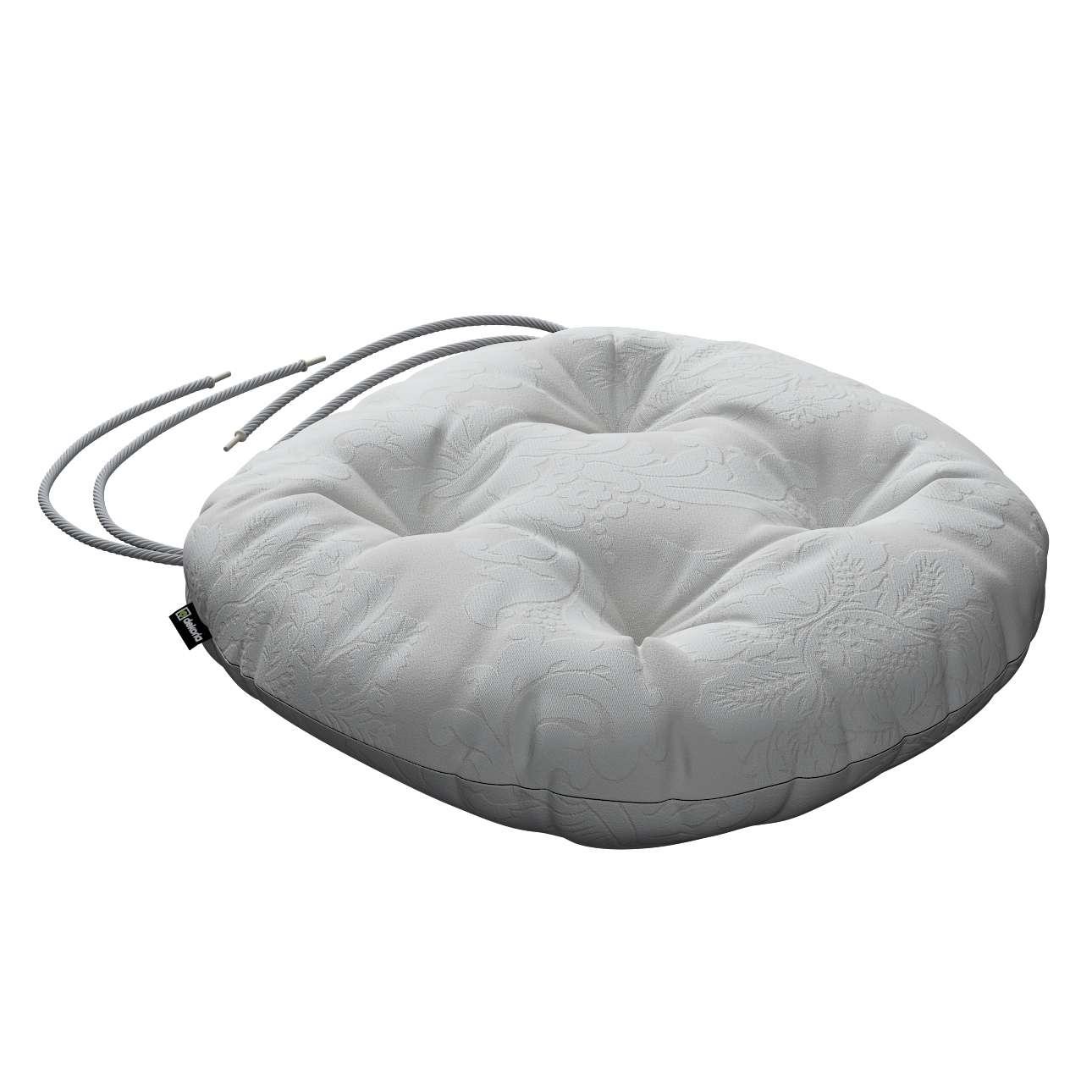Kėdės pagalvėlė Adam  skersmuo 37x8cm kolekcijoje Damasco, audinys: 613-81