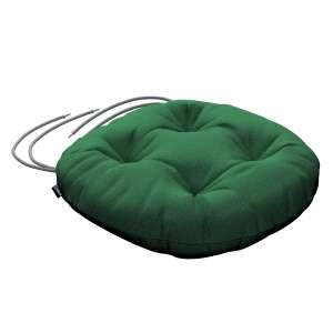 Siedzisko Adam na krzesło fi37x8cm w kolekcji Loneta, tkanina: 133-18