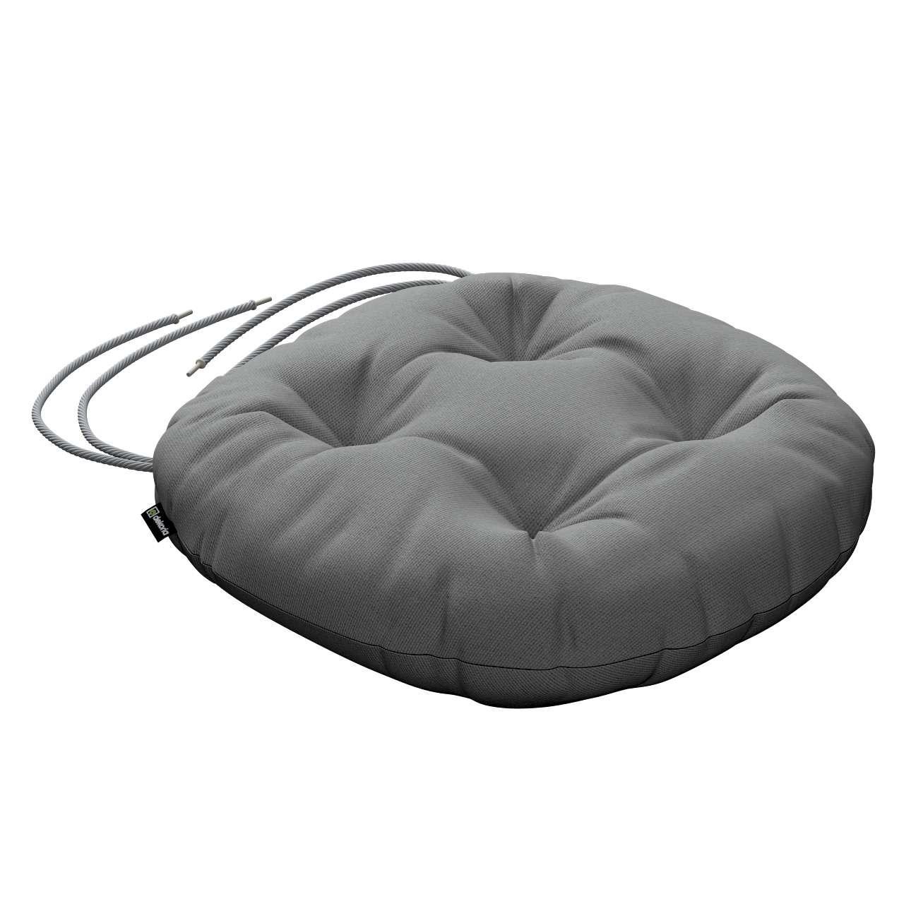 Kėdės pagalvėlė Adam  skersmuo 37x8cm kolekcijoje Loneta , audinys: 133-24