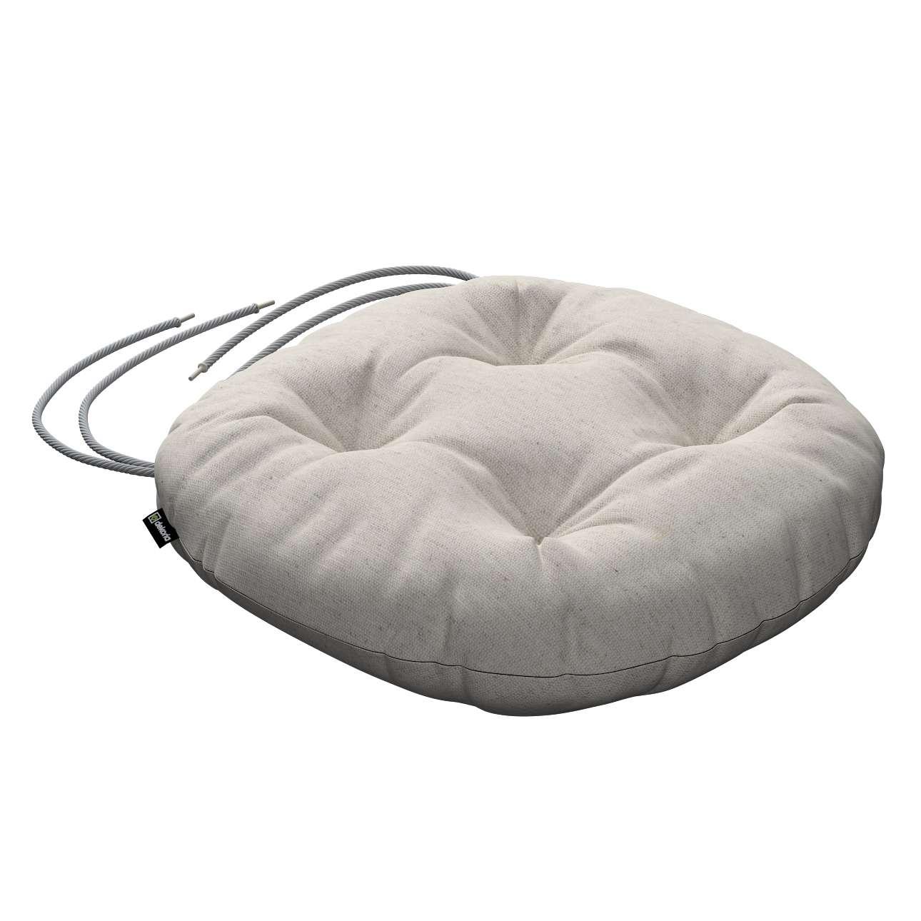 Kėdės pagalvėlė Adam  skersmuo 37x8cm kolekcijoje Loneta , audinys: 133-65