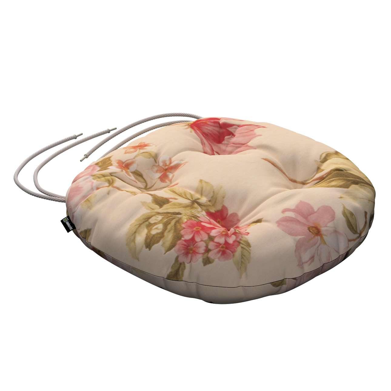 Siedzisko Adam na krzesło w kolekcji Londres, tkanina: 123-05