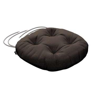 Siedzisko Adam na krzesło fi37x8cm w kolekcji Etna , tkanina: 705-08