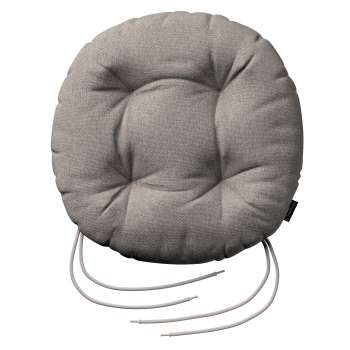 Siedzisko Adam na krzesło fi37x8cm w kolekcji Etna , tkanina: 705-09