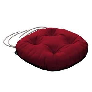 Siedzisko Adam na krzesło fi37x8cm w kolekcji Etna , tkanina: 705-60