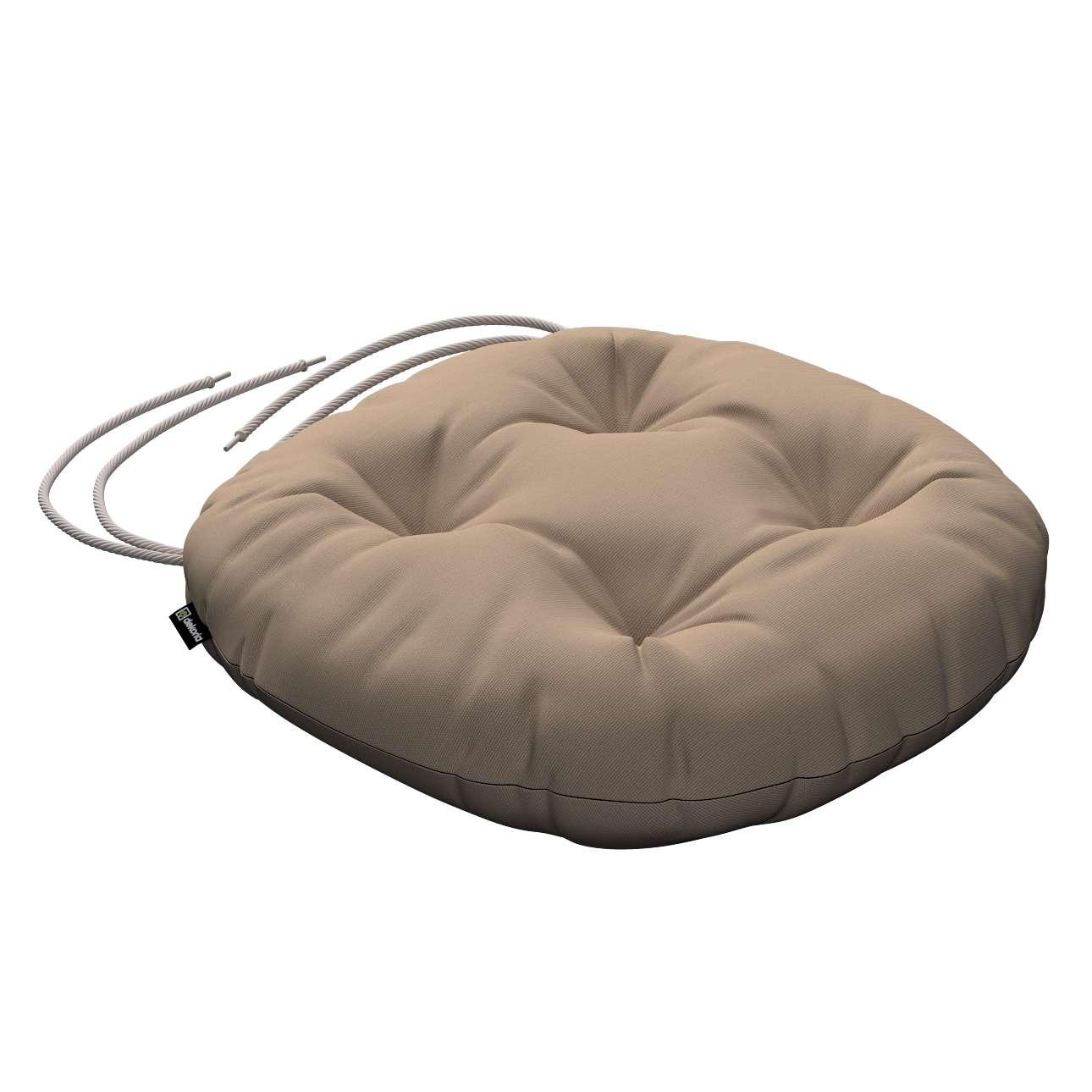 Kėdės pagalvėlė Adam  skersmuo 37x8cm kolekcijoje Cotton Panama, audinys: 702-28