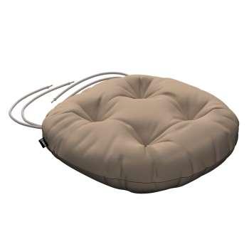 Siedzisko Adam na krzesło fi37x8cm w kolekcji Cotton Panama, tkanina: 702-28