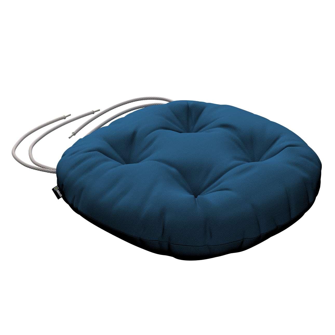 Kėdės pagalvėlė Adam  skersmuo 37x8cm kolekcijoje Cotton Panama, audinys: 702-30