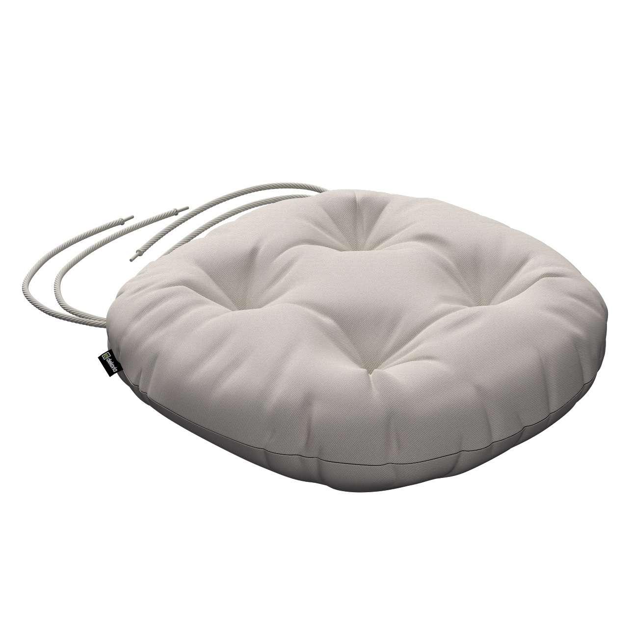 Kėdės pagalvėlė Adam  skersmuo 37x8cm kolekcijoje Cotton Panama, audinys: 702-31