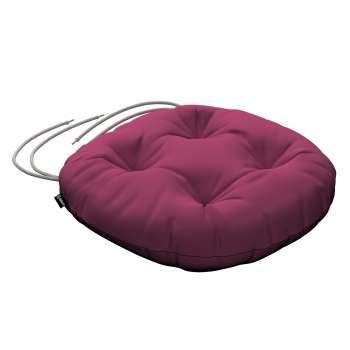 Siedzisko Adam na krzesło fi37x8cm w kolekcji Cotton Panama, tkanina: 702-32