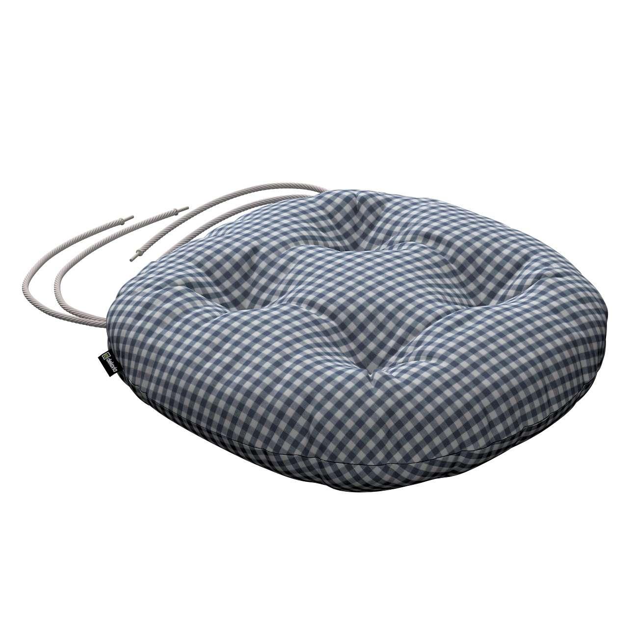 Kėdės pagalvėlė Adam  skersmuo 37x8cm kolekcijoje Quadro, audinys: 136-00