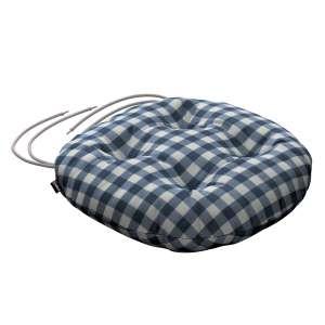 Kėdės pagalvėlė Adam  skersmuo 37x8cm kolekcijoje Quadro, audinys: 136-01