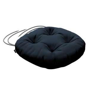 Siedzisko Adam na krzesło fi37x8cm w kolekcji Quadro, tkanina: 136-04
