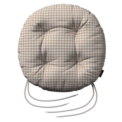 Siedzisko Adam na krzesło w kolekcji Quadro, tkanina: 136-05
