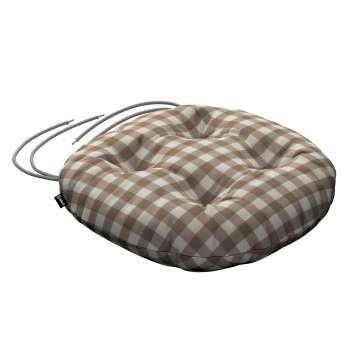 Kėdės pagalvėlė Adam  skersmuo 37x8cm kolekcijoje Quadro, audinys: 136-06