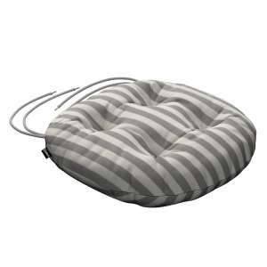 Kėdės pagalvėlė Adam  skersmuo 37x8cm kolekcijoje Quadro, audinys: 136-12