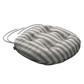 Siedzisko Adam na krzesło fi37x8cm w kolekcji Quadro, tkanina: 136-12