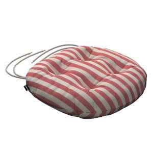 Kėdės pagalvėlė Adam  skersmuo 37x8cm kolekcijoje Quadro, audinys: 136-17