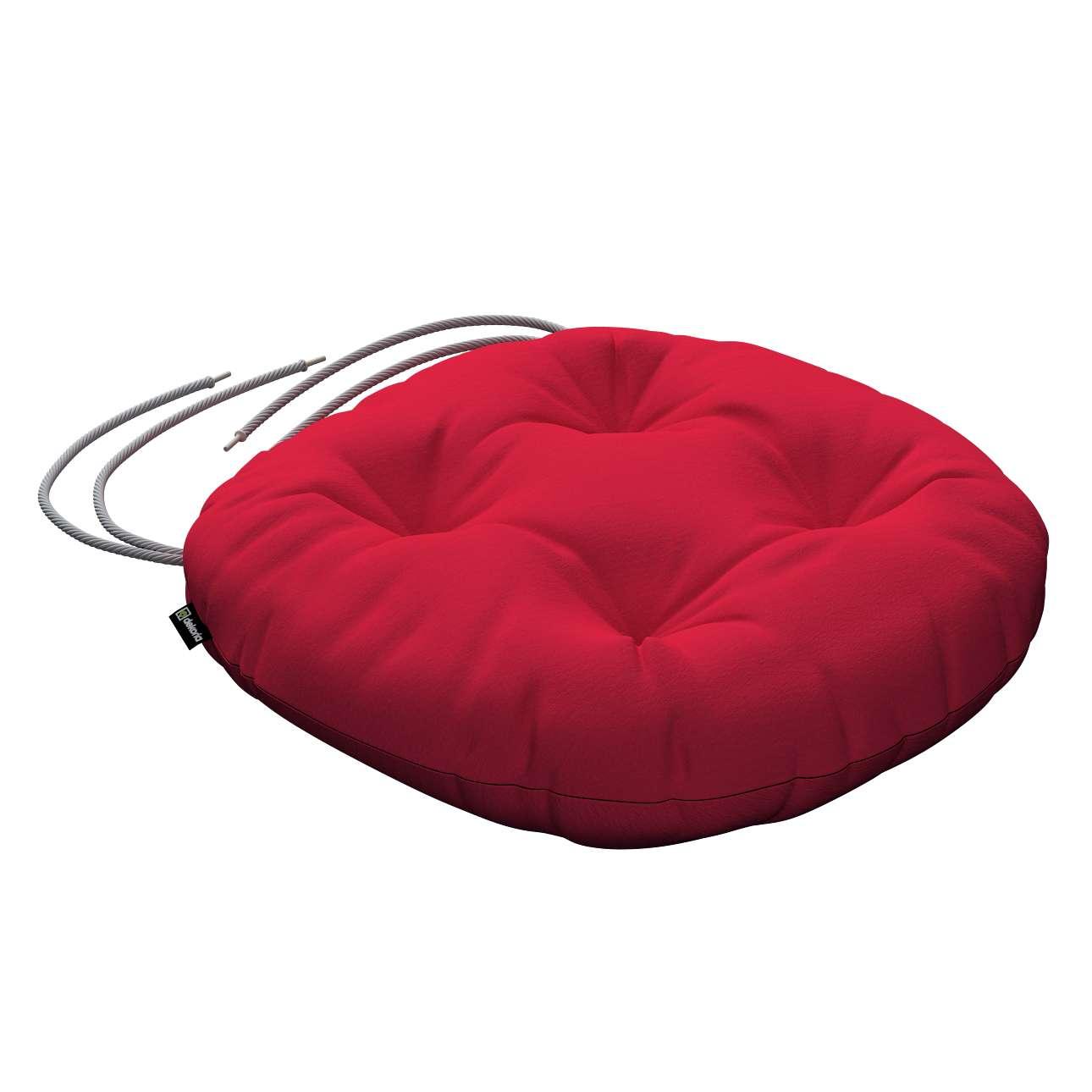 Kėdės pagalvėlė Adam  skersmuo 37x8cm kolekcijoje Quadro, audinys: 136-19