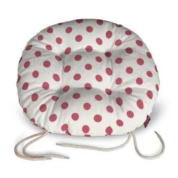 Siedzisko Adam na krzesło fi37x8cm w kolekcji Ashley, tkanina: 137-70