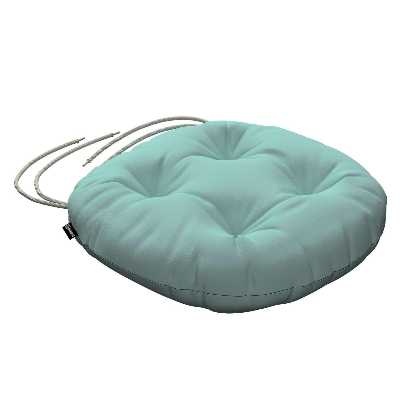Kėdės pagalvėlė Adam  skersmuo 37x8cm kolekcijoje Loneta , audinys: 133-32
