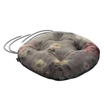 Kėdės pagalvėlė Adam  skersmuo 37x8cm kolekcijoje Monet, audinys: 137-81