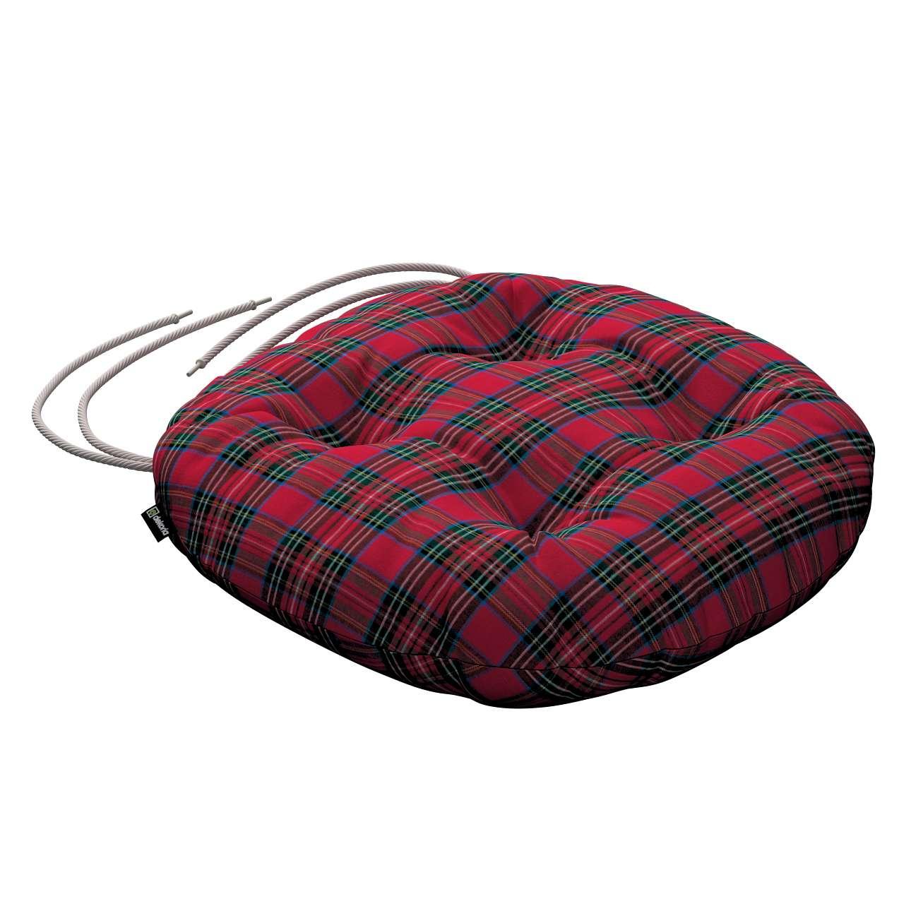 Kėdės pagalvėlė Adam  skersmuo 37x8cm kolekcijoje Bristol, audinys: 126-29