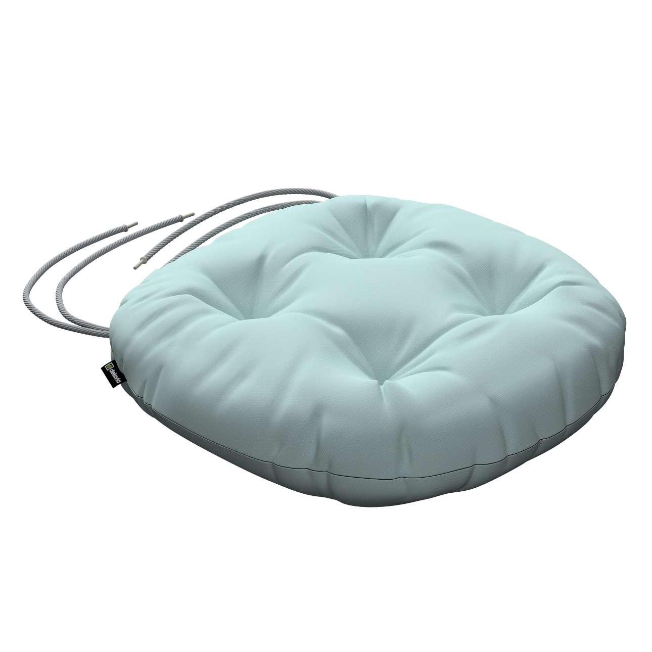 Kėdės pagalvėlė Adam  skersmuo 37x8cm kolekcijoje Cotton Panama, audinys: 702-10