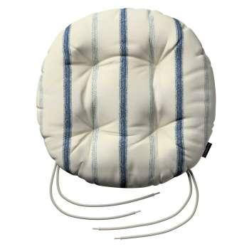Kėdės pagalvėlė Adam  skersmuo 37x8cm kolekcijoje Avinon, audinys: 129-66