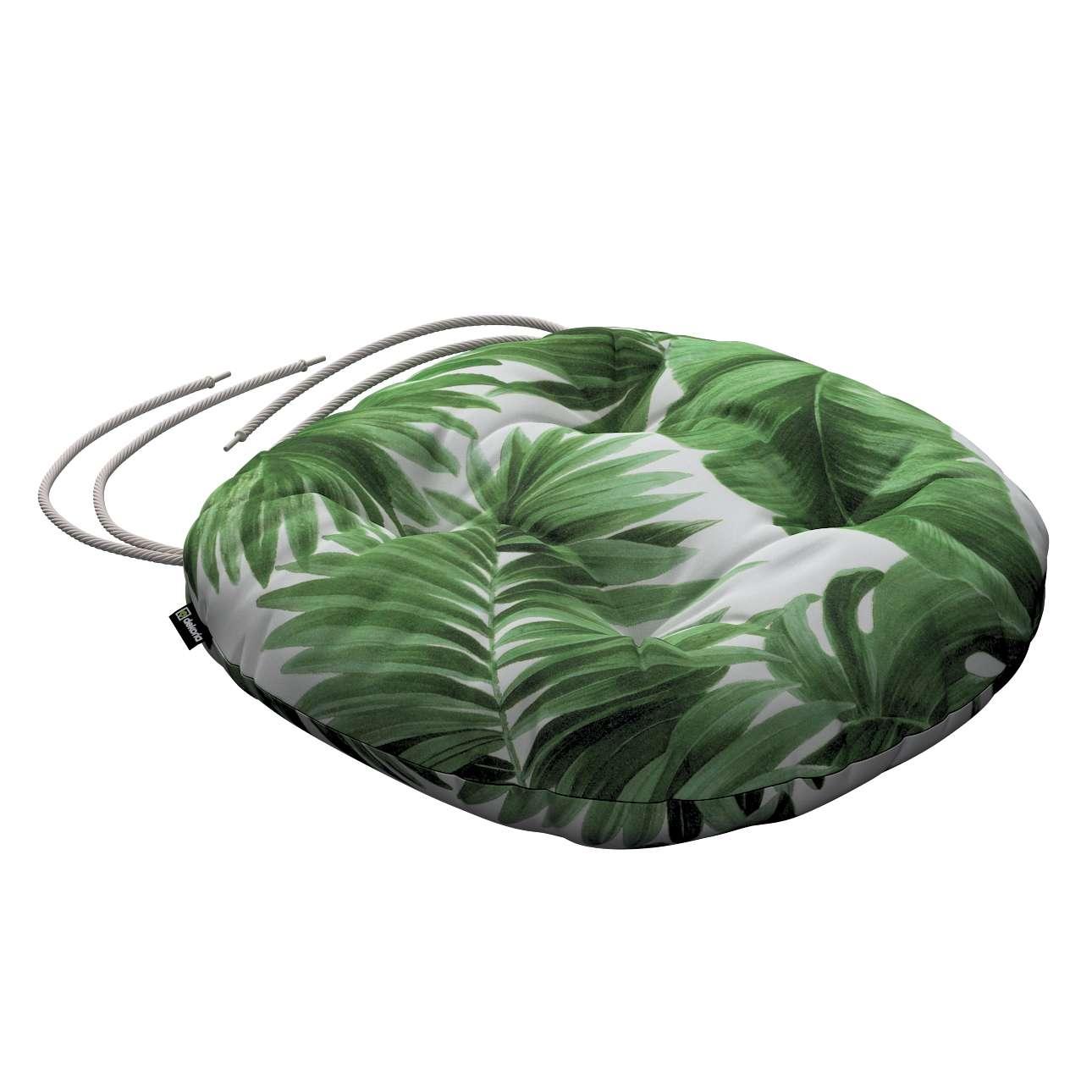 Siedzisko Adam na krzesło w kolekcji Tropical Island, tkanina: 141-71