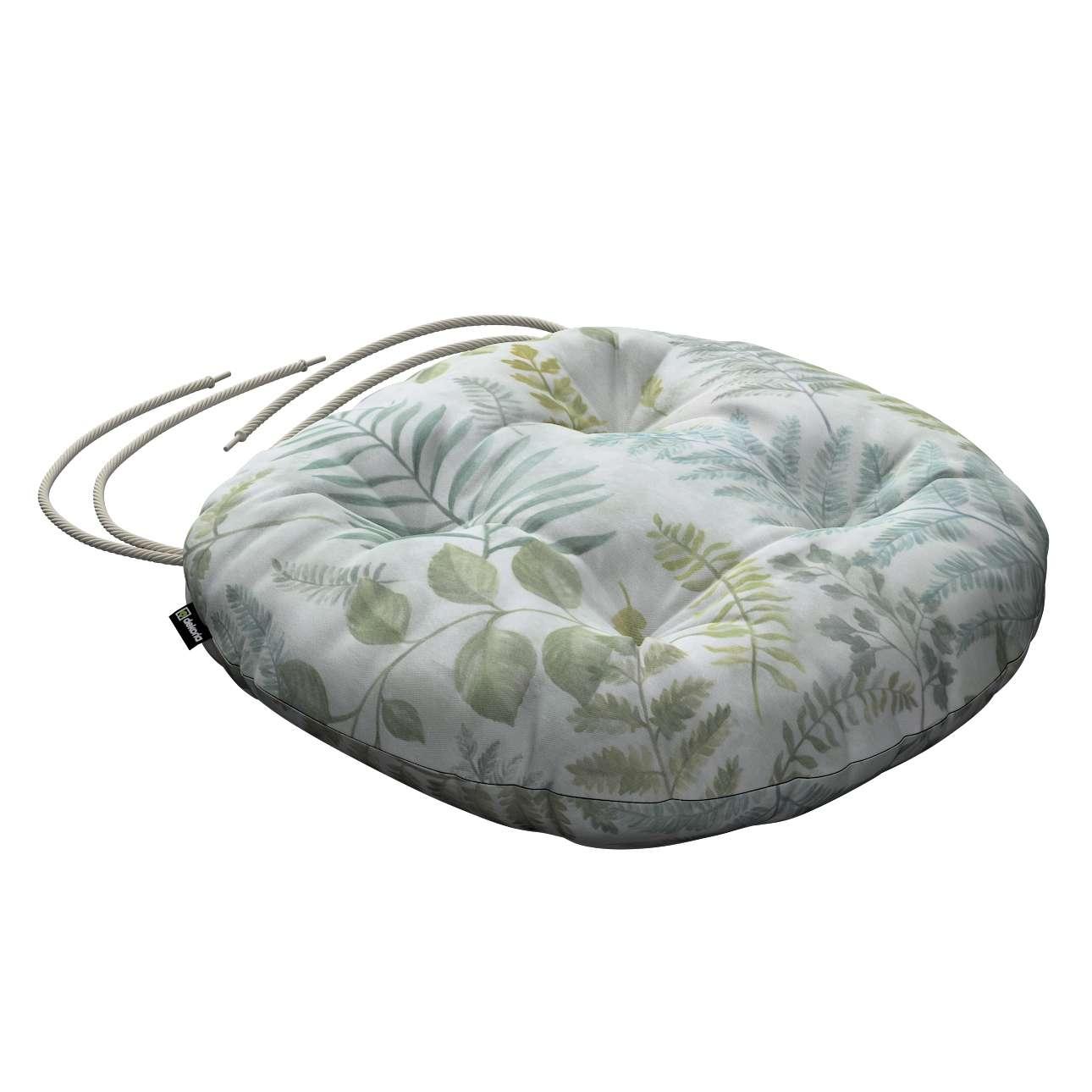 Siedzisko Adam na krzesło w kolekcji Pastel Forest, tkanina: 142-46