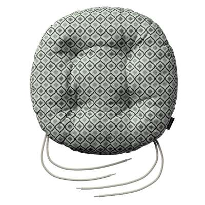 Siedzisko Adam na krzesło w kolekcji Black & White, tkanina: 142-76