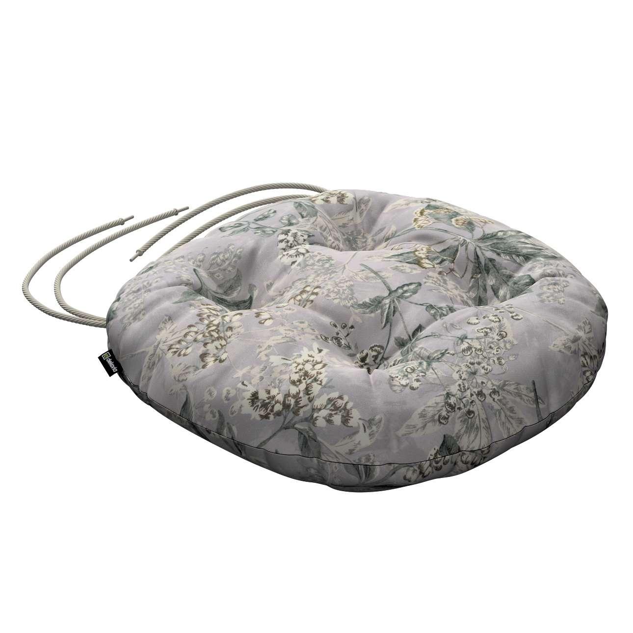 Siedzisko Adam na krzesło w kolekcji Londres, tkanina: 143-37