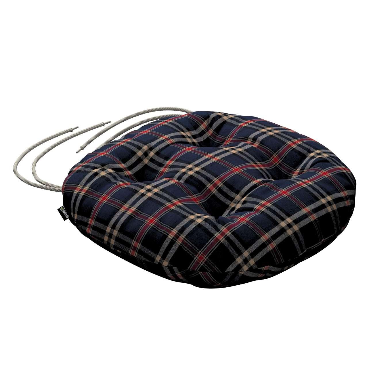 Siedzisko Adam na krzesło w kolekcji Christmas, tkanina: 142-68