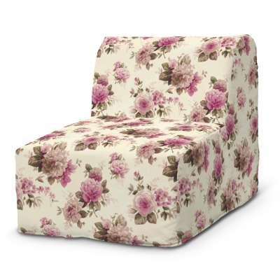 Lycksele fotelio užvalkalas 141-07 gėlės šviesiame fone Kolekcija Londres