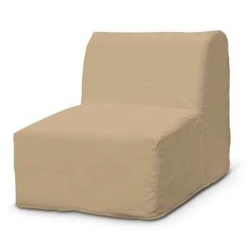 Pokrowiec na fotel Lycksele prosty w kolekcji Cotton Panama, tkanina: 702-01