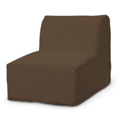 Lycksele fotelio užvalkalas 702-02 ruda Kolekcija Cotton Panama