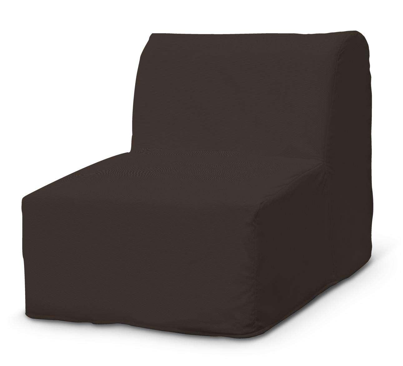 Pokrowiec na fotel Lycksele prosty w kolekcji Cotton Panama, tkanina: 702-03