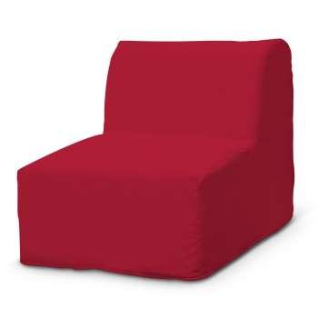 Pokrowiec na fotel Lycksele prosty fotel Lycksele w kolekcji Cotton Panama, tkanina: 702-04