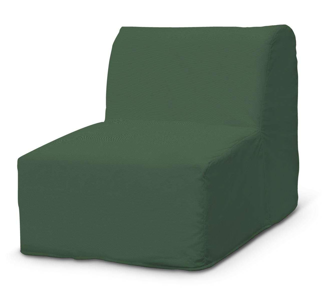 Pokrowiec na fotel Lycksele prosty w kolekcji Cotton Panama, tkanina: 702-06