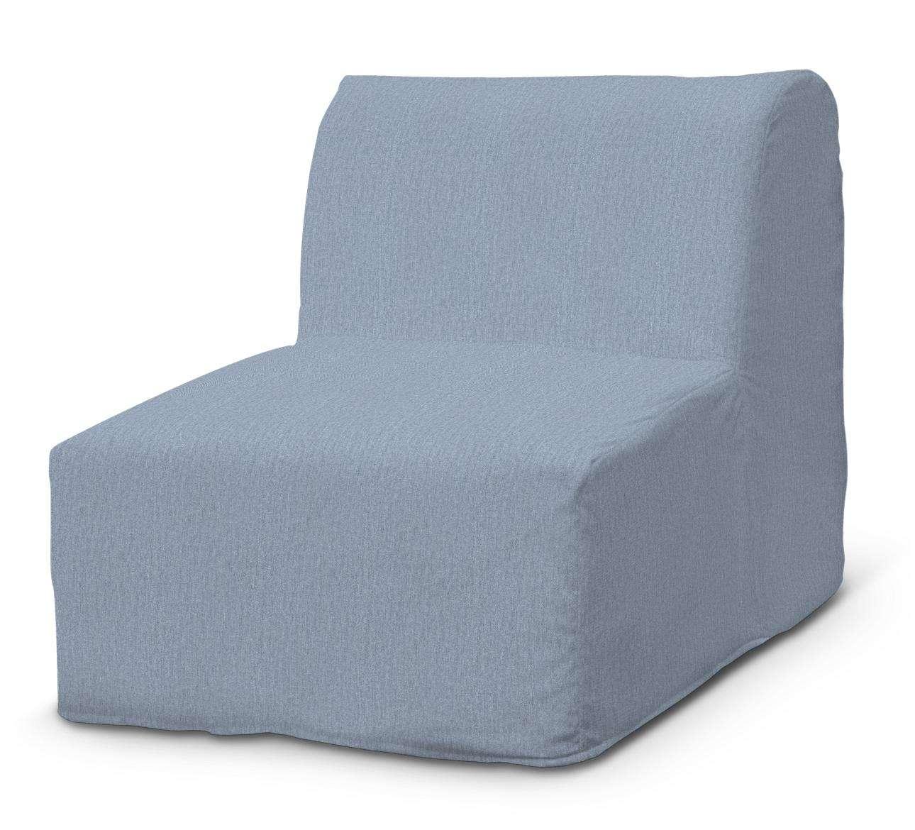 Pokrowiec na fotel Lycksele prosty fotel Lycksele w kolekcji Chenille, tkanina: 702-13